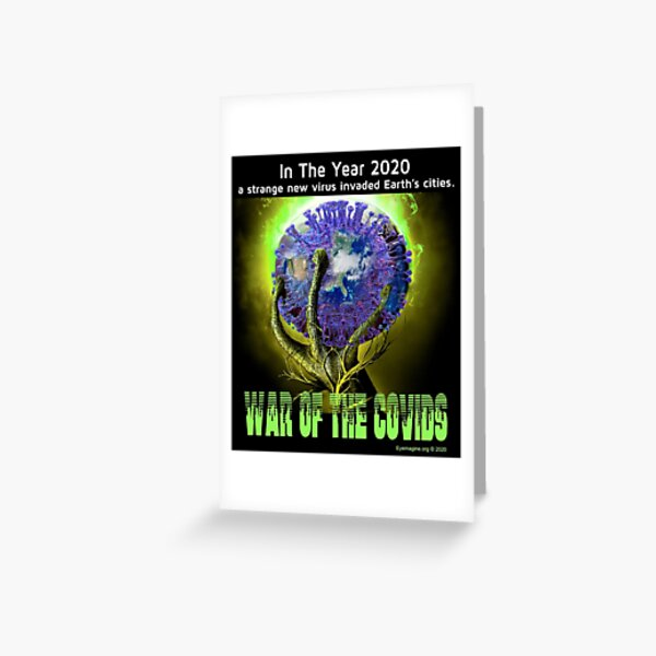 War of the Covids Greeting Card