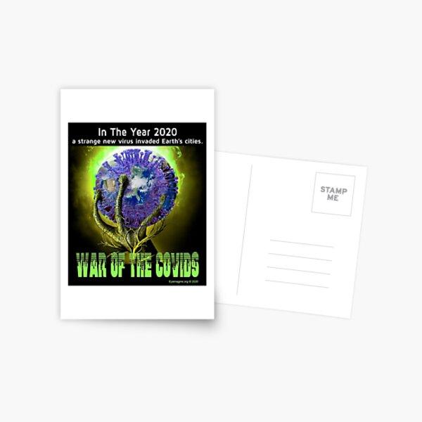 War of the Covids Postcard