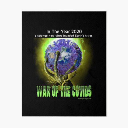 War of the Covids Art Board Print