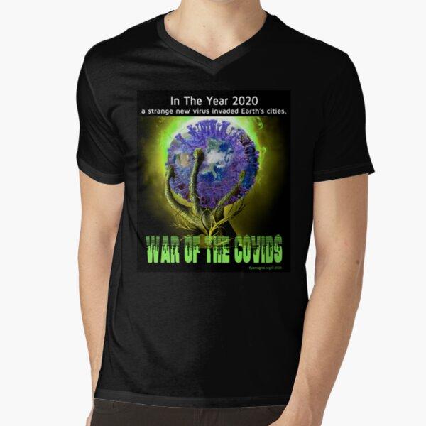 War of the Covids V-Neck T-Shirt