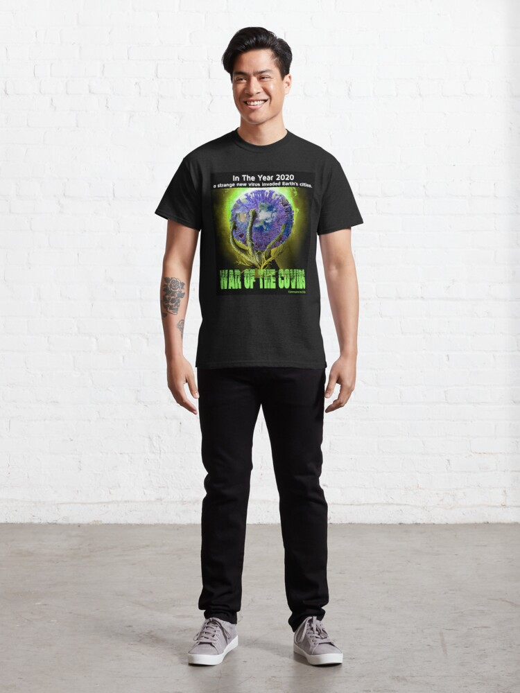 Alternate view of War of the Covids Classic T-Shirt