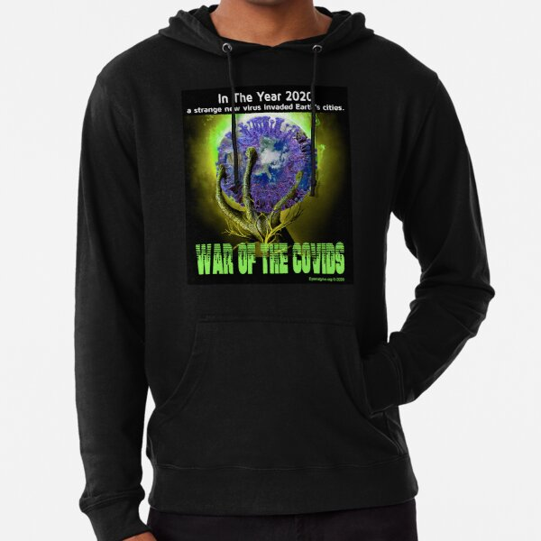 War of the Covids Lightweight Hoodie