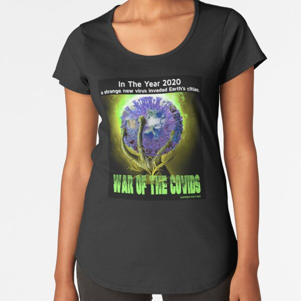 War of the Covids Premium Scoop T-Shirt