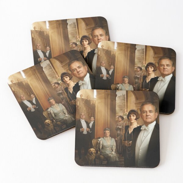 Downton Abbey Coasters (Set of 4)