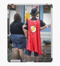 Superheroes Need Breaks Too iPad Case/Skin
