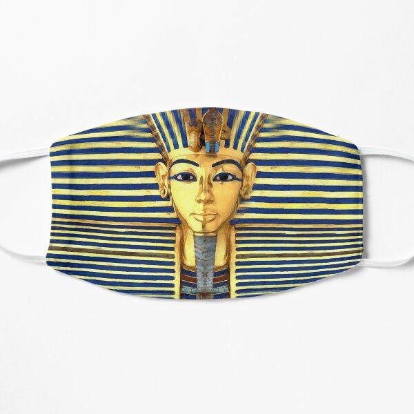 King Tut Gold & Blue Lapis Mask Flat Mask