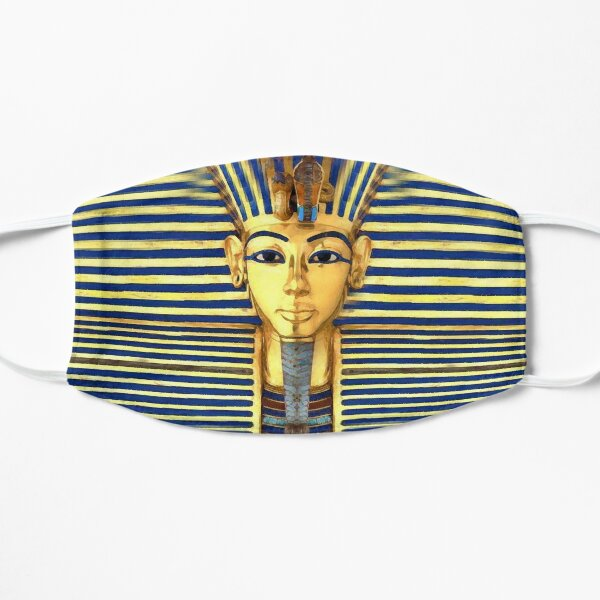 King Tut Gold & Blue Lapis Mask Mask