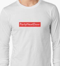 PartyNextDoor (Supreme) Long Sleeve T-Shirt