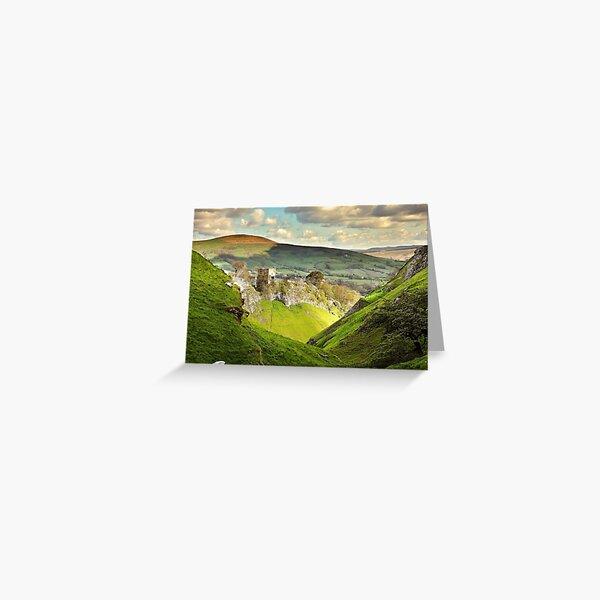 Peveril Castle, Castleton Greeting Card