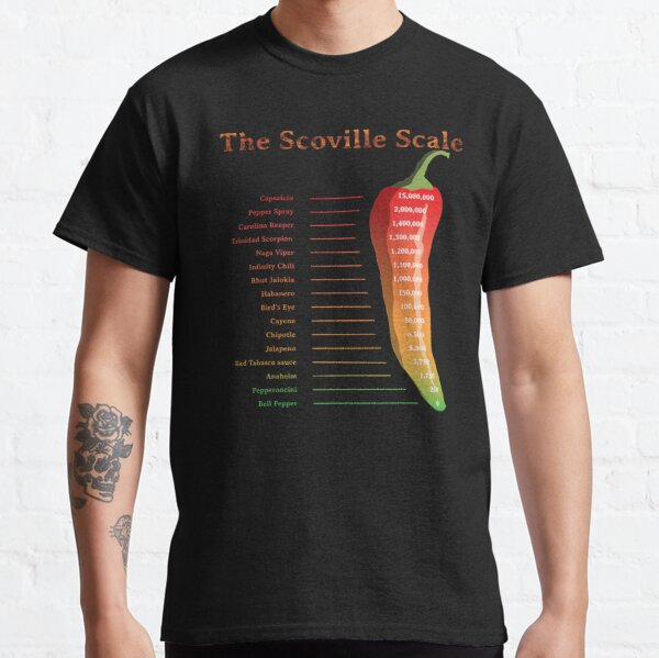 The Scoville Scale Classic T-Shirt