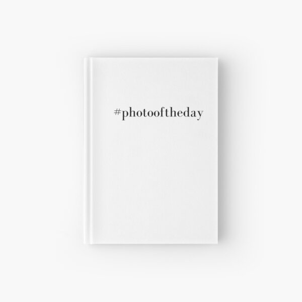 Photo Of The Day Hardcover Journal