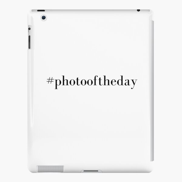 Photo Of The Day iPad Snap Case