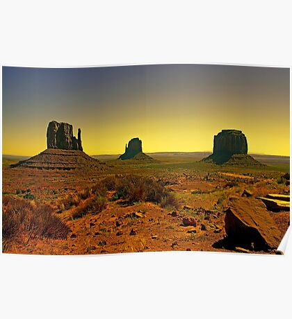Valley of The Navajo Poster