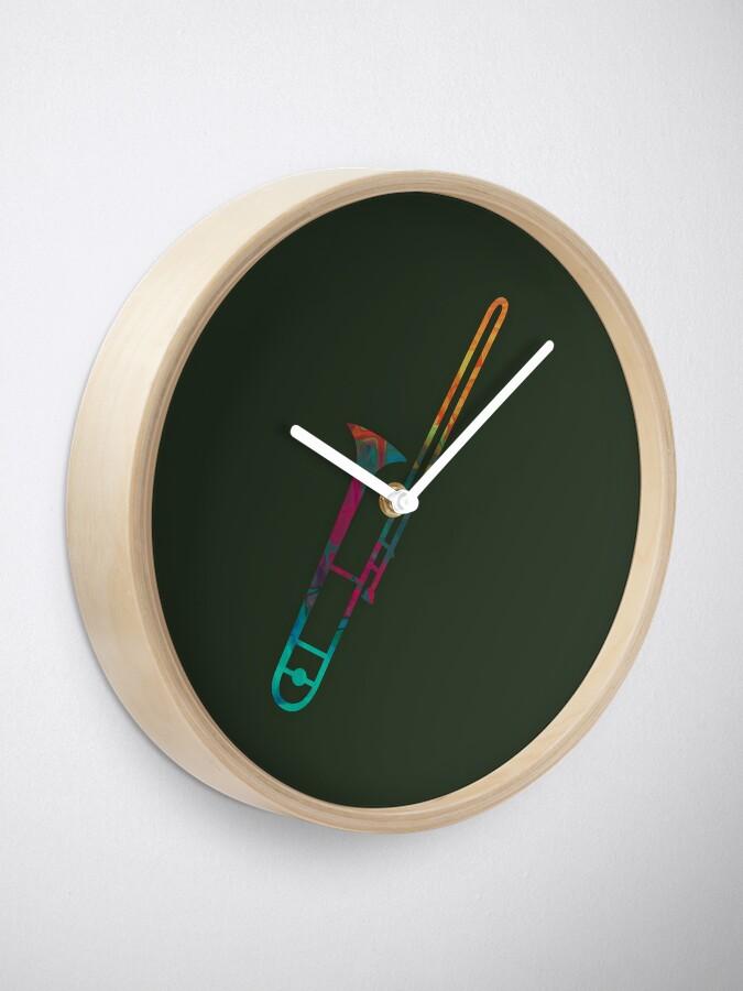 Alternate view of Trombone Clock