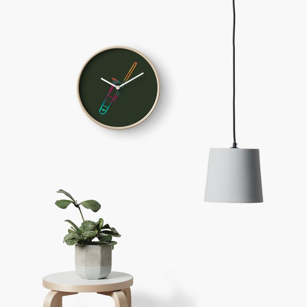 Trombone Clock