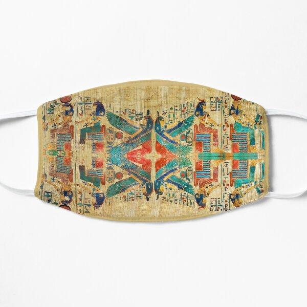 Protective Egyptian Goddesses Papyrus Mask Flat Mask
