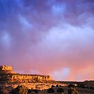 Approaching Storm at Sunset by Pete Paul