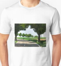 Road to Bibertal I Unisex T-Shirt