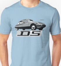 Citroën DS script emblem and illustration T-Shirt