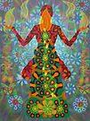 yoga candle digital - 2012 by karmym