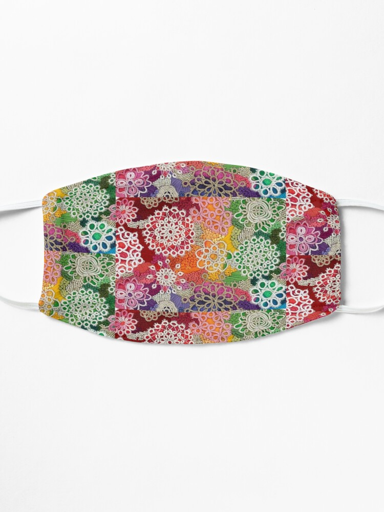 Alternate view of Opalicious - Rainbow Brain  Mask
