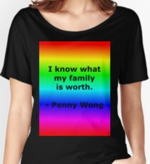 Penny Wong's Family Women's Relaxed Fit T-Shirt