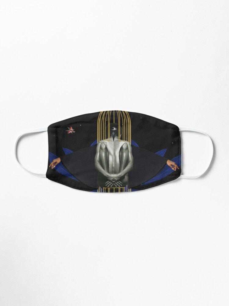 Alternate view of Blackbird - Freedom, Independence, Bird, Fly Mask