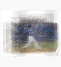 Jose Bautista Swing Bat Flip Poster