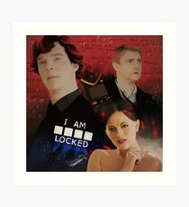 A scandal in Belgravia Art Print