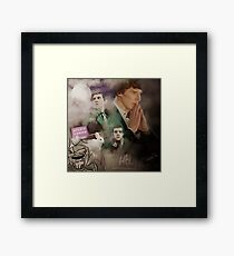 The hounds of Baskerville Framed Print