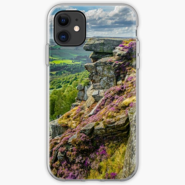 Derbyshire Gritstone Edge iPhone Soft Case