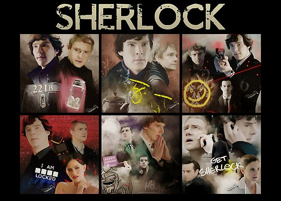 Seasons . Sherlock by KanaHyde
