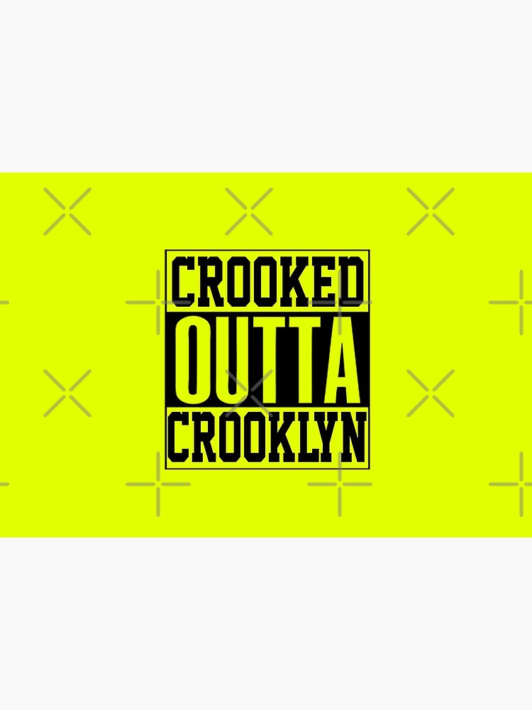Crooked Outta Crooklyn T-Shirt Design by Mbranco