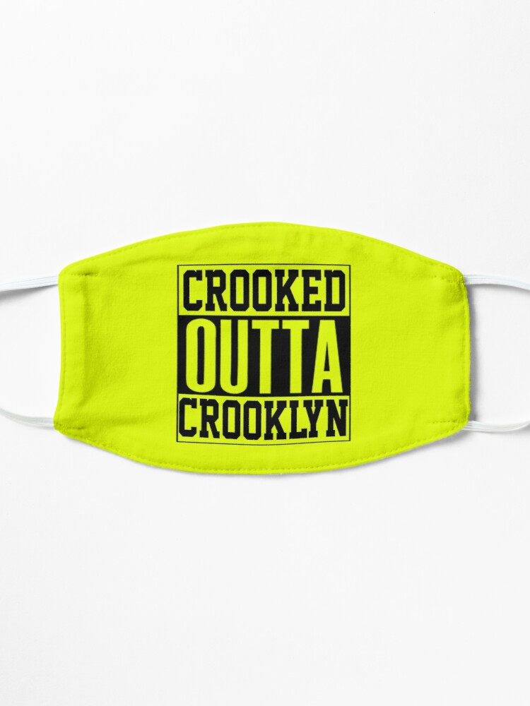 Alternate view of Crooked Outta Crooklyn T-Shirt Design Mask