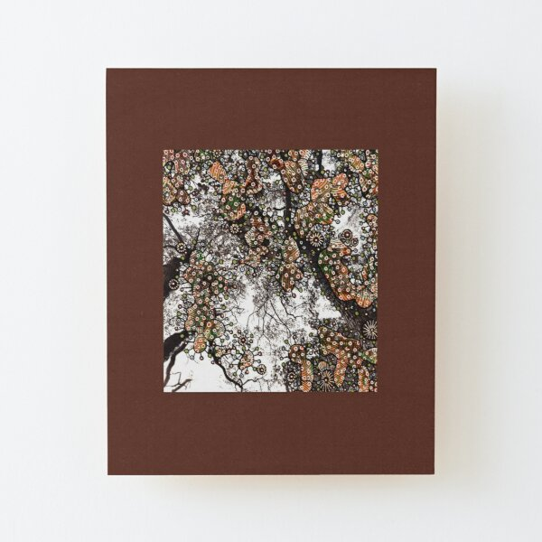 The Pure Joy of Nature Wood Mounted Print