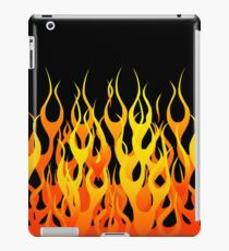 Racing Flames iPad Case/Skin