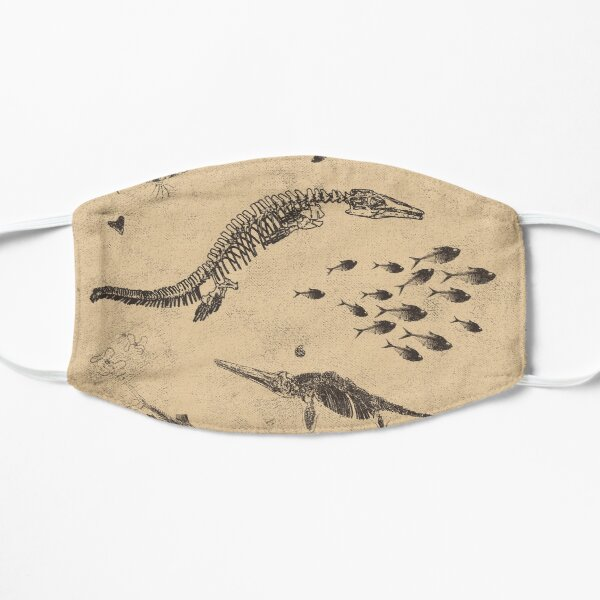 Creatures of the Western Interior Seaway Flat Mask