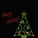 Happy Holidays Card by Chazagirl