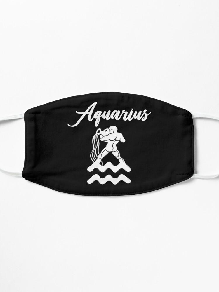 Alternate view of Aquarius T-Shirt Mask