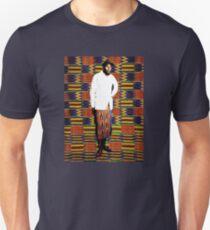 Mos Def in Kente Cloth Unisex T-Shirt