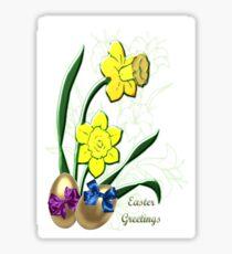 Easter Greetings (4007 Views) Sticker