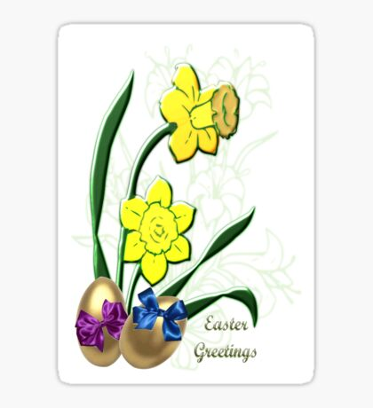 Easter Greetings (3911 Views) Sticker