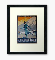 Vintage poster - Olympics 1924 France Framed Print