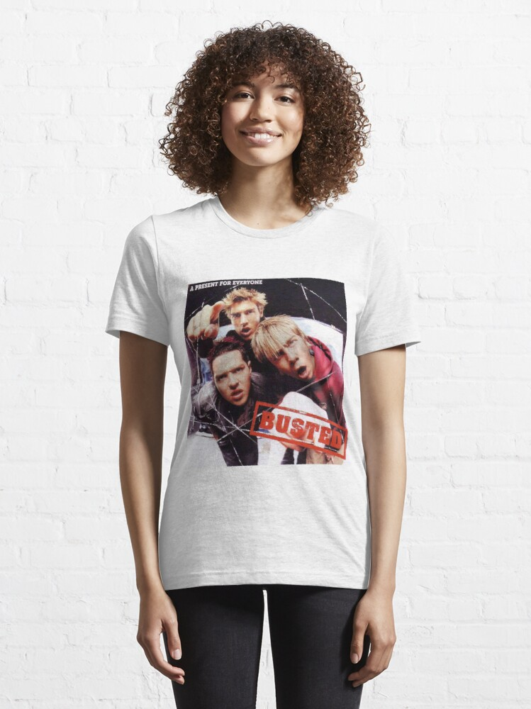 Alternate view of Busted - A Present For Everyone Essential T-Shirt