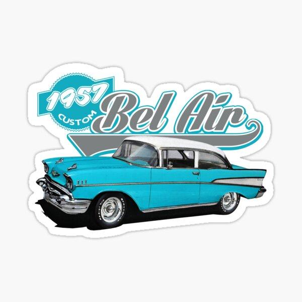 Light Blue 1957 Hardtop Sticker