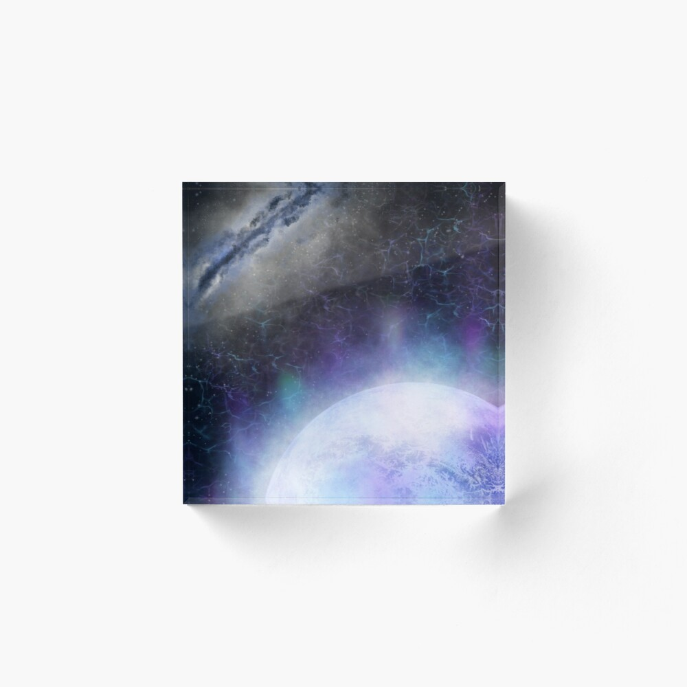 Sci Fi Fantasy Space Galaxy Digital Art Art Board Print By Herdarkartsuk Redbubble
