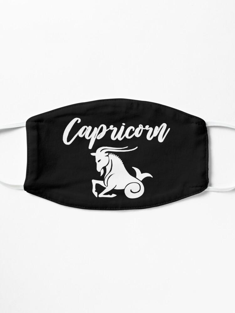 Alternate view of Capricorn T-Shirt Mask