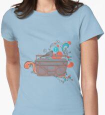 Retro Music Women's Fitted T-Shirt