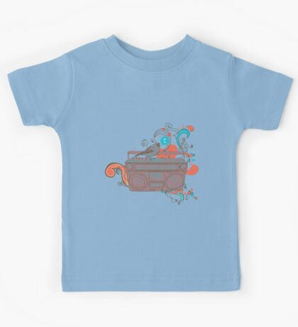 Retro Music Kids Clothes