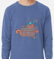 Retro Music Lightweight Sweatshirt
